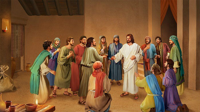 Jesus Appears to the Disciples in the Upper Room